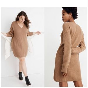 Madewell Sweater Dress NWT